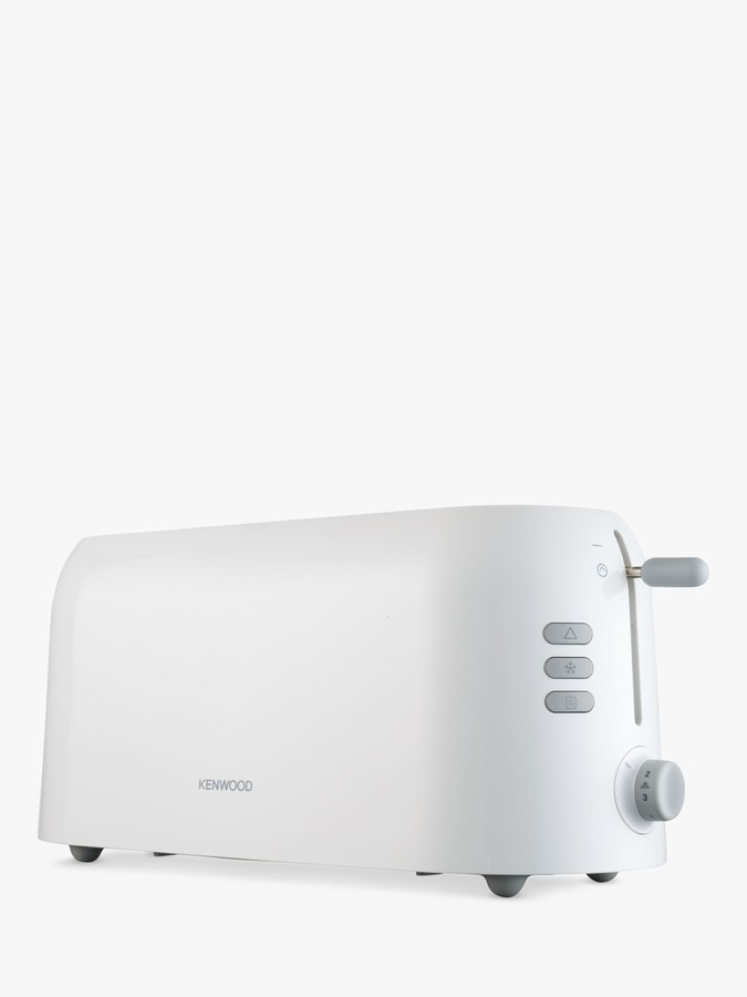 Kenwood TTP210 4-Slice Long Toaster, White