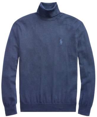 Polo Ralph Lauren Regular-Fit Washable Merino Wool Turtleneck Sweater