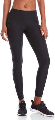 90 Degree By Reflex Crisscross Mesh Panel Leggings