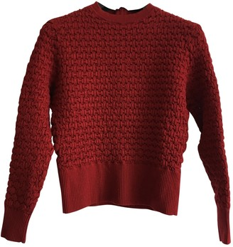 Surface to Air Burgundy Wool Knitwear