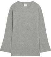 Madeleine Thompson Beryl Ribbed Cashmere Sweater - Stone