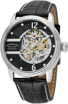 Stuhrling Original Mens Black Strap Watch-Sp11337