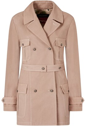 Dolce & Gabbana Short Trench Coat