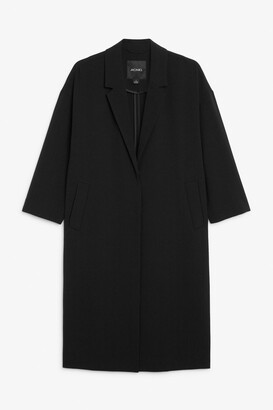 Monki Unlined long blazer