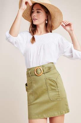 Maeve Charlie Belted Mini Skirt