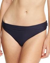 Heidi Klein Hamptons Fold-Over Swim Bottom, Blue
