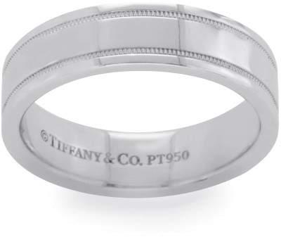 Tiffany & Co. 950 Platinum Wedding Ring Size 6.25