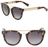Bobbi Brown 48mm Mirrored Round Sunglasses