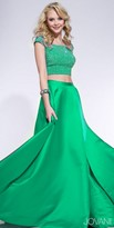 Jovani Embellished Two-Piece Ballgown Prom Dress