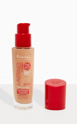 Coty Rimmel Lasting Finish 25 Hour Foundation 201 Classic Beige