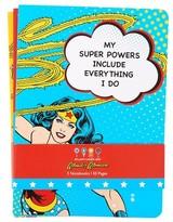 Dylan's Candy Bar Wonder Woman Set Of 3 Notebooks - Blue