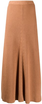 Joseph Knitted Maxi Skirt