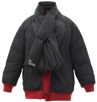 Marni - Quilted Quilted Down Scarf Jacket - Black Multi