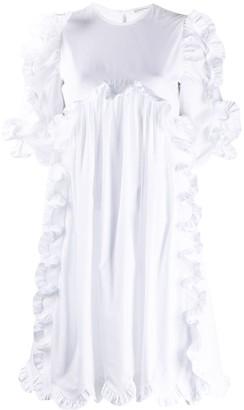 Cecilie Bahnsen Keira ruffle mini dress