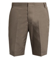 Lanvin Slim-fit cotton chino shorts