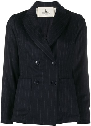 Barena Double-Breasted Pinstripe Blazer