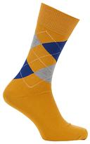 Burlington King Size Argyle Socks, One Size