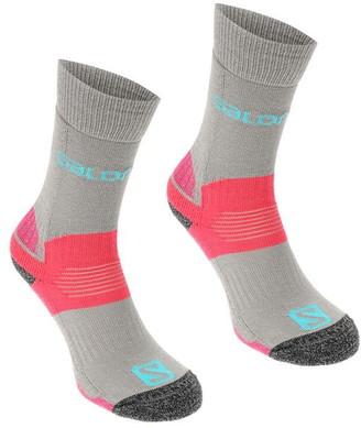 Salomon Midweight 2 Pack Ladies Walking Socks