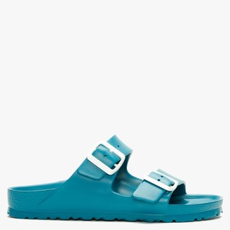Birkenstock Arizona EVA Turquoise Two Bar Mules