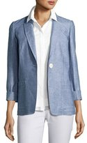 Lafayette 148 New York Alba One-Button Blazer, Multi