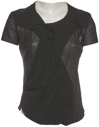 Balenciaga \N Black Silk Tops