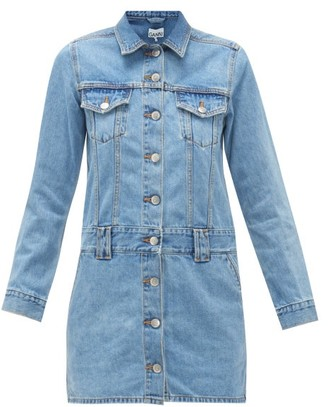 Ganni Denim Mini Dress - Light Denim