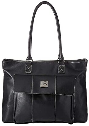 Kenneth Cole Reaction Faux Leather 16 Computer Business Tote