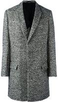 Haider Ackermann woven single breasted coat - men - Cotton/Nylon/Rayon/Virgin Wool - 46