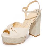 Isa Tapia Cheer Platform Sandals