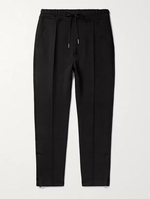 Tom Ford Slim-Fit Stretch-Jersey Drawstring Sweatpants - Men - Black
