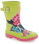 Joules Printed Welly Waterproof Rain Boot (Toddler, Little Kid & Big Kid)