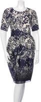 Jason Wu Wool Jacquard Dress