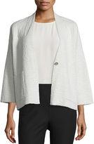 Eileen Fisher 3/4-Sleeve Kimono Jacket, Petite