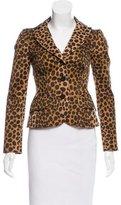 Moschino Cheap & Chic Moschino Cheap and Chic Wool Printed Blazer