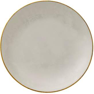 Royal Crown Derby Crushed Velvet Pearl Coupe Plate (16cm)