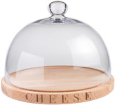 Culinary Concepts Fromage Cheese Beechwood Board & Glass Dome
