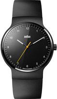 Braun BN0221 black rubber watch