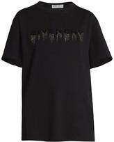Givenchy Embellished Logo Masculine Cotton Tee