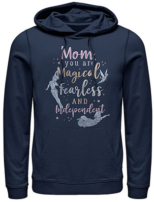 Fifth Sun Sweatshirts and Hoodies NAVY - Disney Navy Magical Fearless Independent Hoodie - Adult