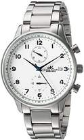 Adee Kaye Men's Quartz Stainless Steel Fitness Watch