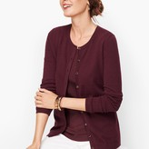 Talbots Charming Cardigan - Hidden Stripe