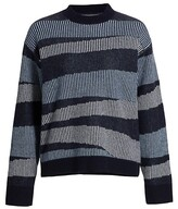 Thumbnail for your product : Naadam Swirl Striped Cashmere Sweater