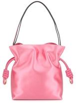 Loewe Flamenco Knot Satin Shoulder Bag