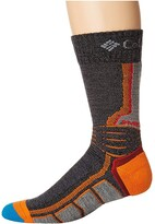 Columbia Omni-Heat Hike Crew 1-Pack (Charcoal) Crew Cut Socks Shoes
