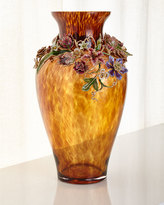 Jay Strongwater Dutch Floral Vase