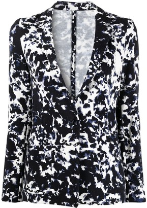 Majestic Filatures Abstract-Print Blazer