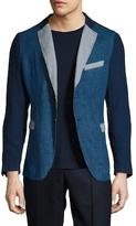Gant R1. Linen Patched Blazer
