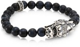 King Baby Studio New Classics Sterling Silver & Blue Tiger Eye Bracelet