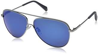 Polaroid Sunglasses Men's Pld2054fs Polarized Aviator Sunglasses