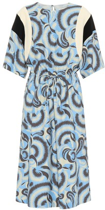Dries Van Noten Printed midi dress